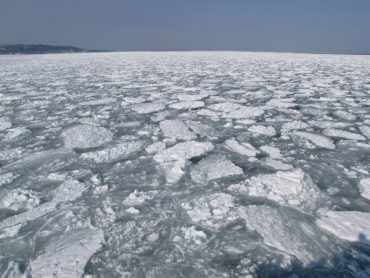 流氷と流氷観光砕氷船「おーろら」のはなし