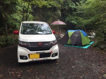 久々の道志の森キャンプ場